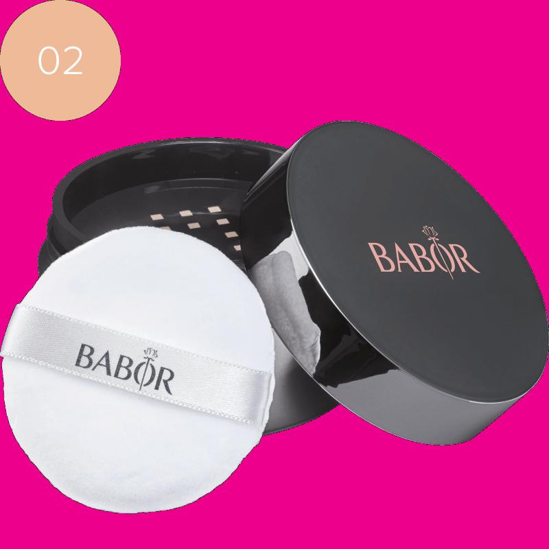 BABOR AGE ID FACE COSMETICS Mineral Powder Foundation 02 Medium
