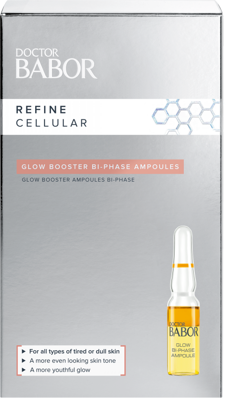 DOCTOR BABOR REFINE CELLULAR Glow Booster Bi-Phase Ampoule 7x1 ml