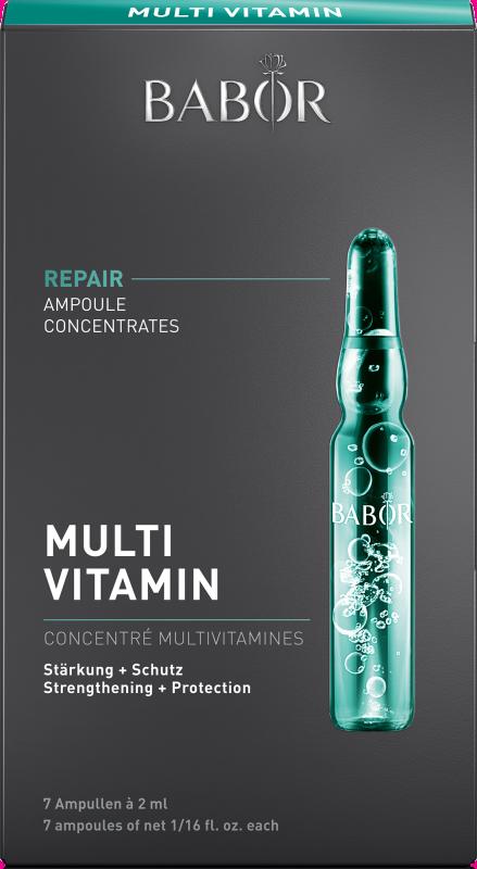 BABOR AMPOULE CONCENTRATES REPAIR Multi Vitamin 7x2 ml