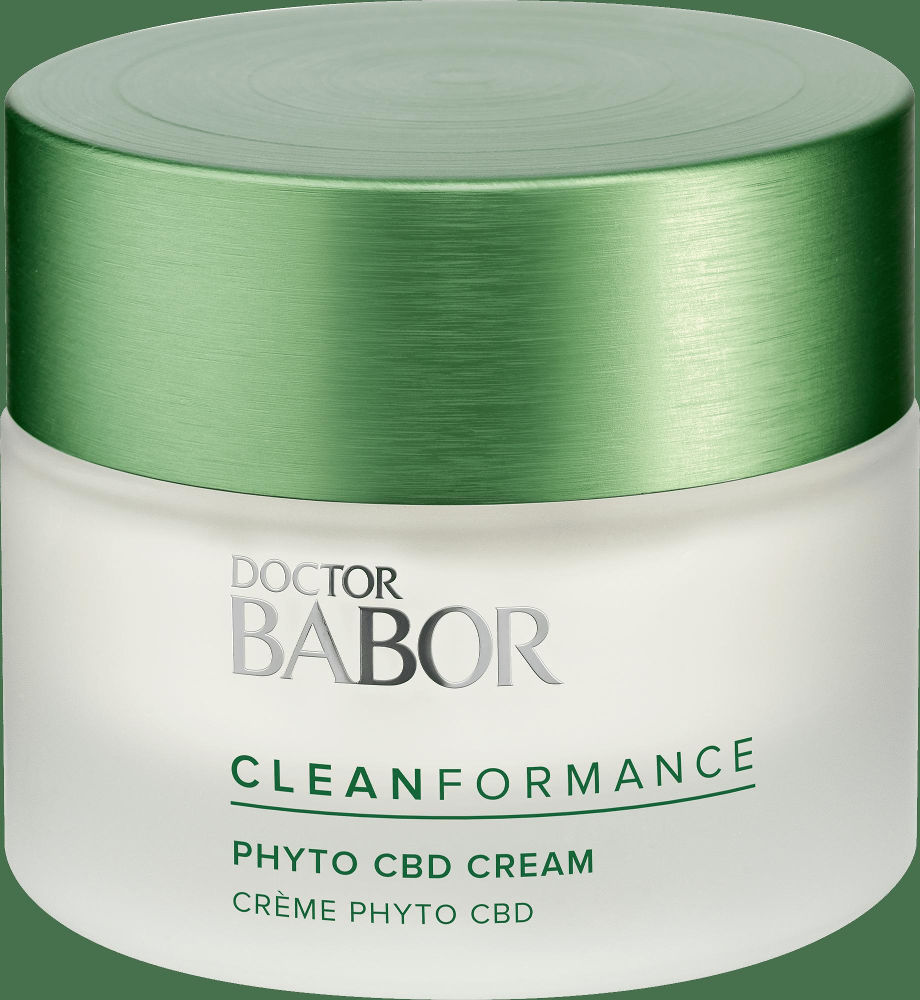 DOCTOR BABOR CLEANFORMANCE Phyto CBD 24h Cream