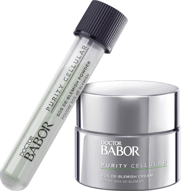 DOCTOR BABOR PURITY CELLULAR SOS De-Blemish Kit Powder & Cream
