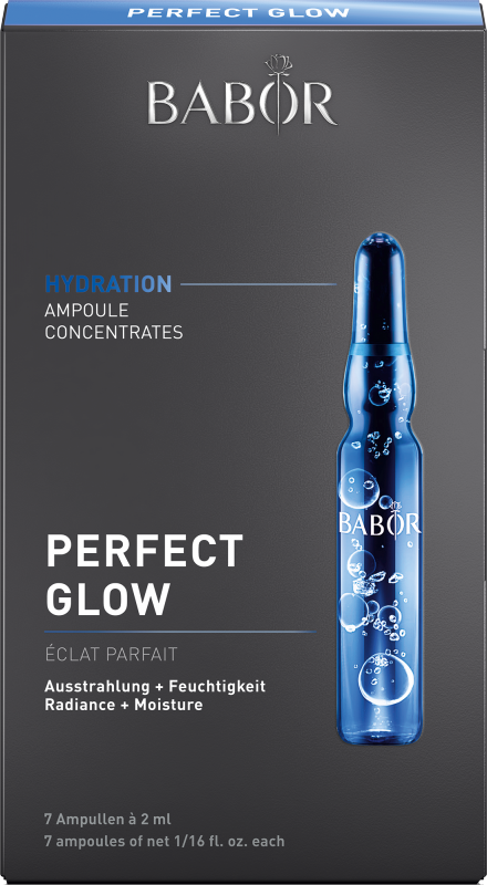 BABOR AMPOULE CONCENTRATES HYDRATION Perfect Glow 7x2 ml