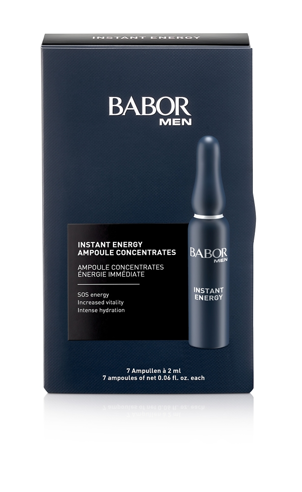BABOR MEN Instant Energy Ampoule Concentrate 7x2 ml