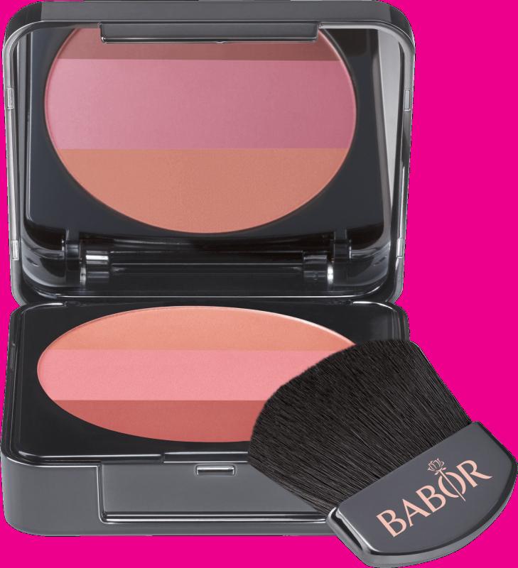 BABOR AGE ID FACE COSMETICS Tri-Colour Blush 02 Rose