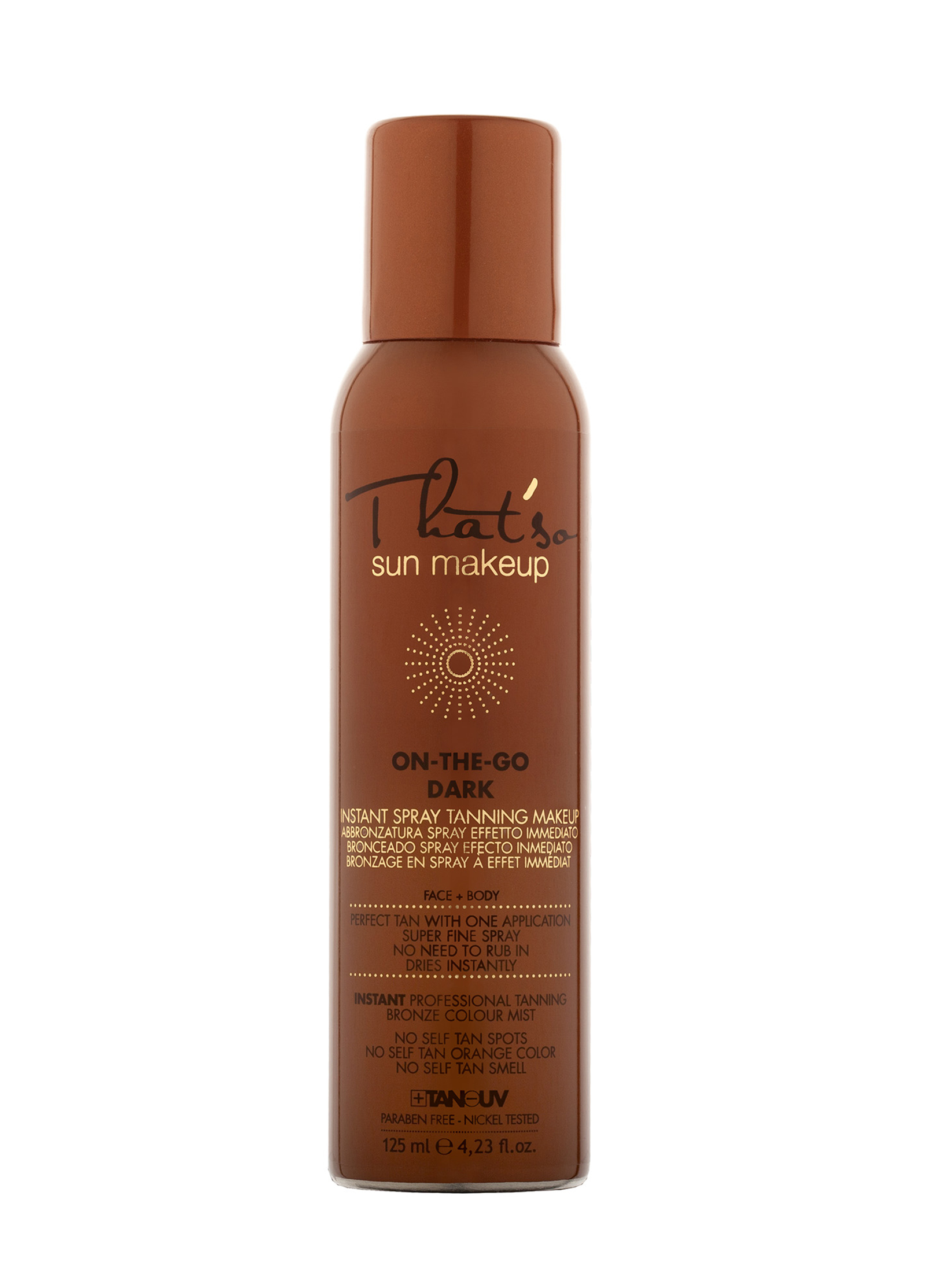 THAT`SO SUN MAKEUP On-The-Go Dark Spray Tanning Makeup