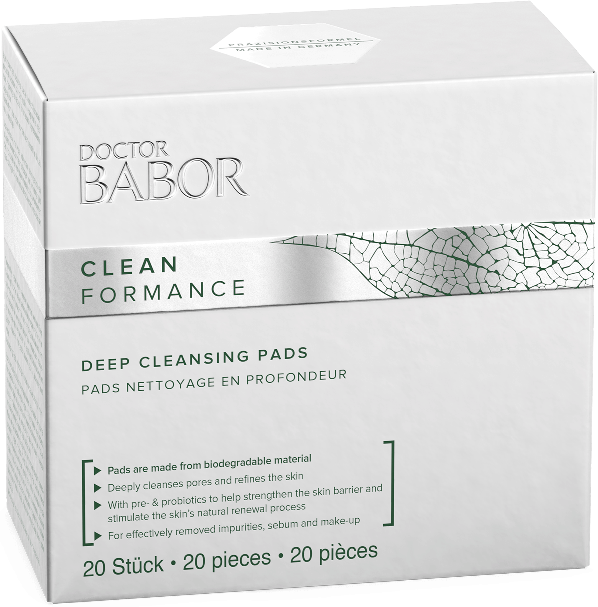 DOCTOR BABOR CLEANFORMANCE Deep Cleansing Pads 20 Stück