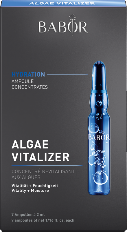 BABOR AMPOULE CONCENTRATES HYDRATION Algae Vitalizer 7x2 ml