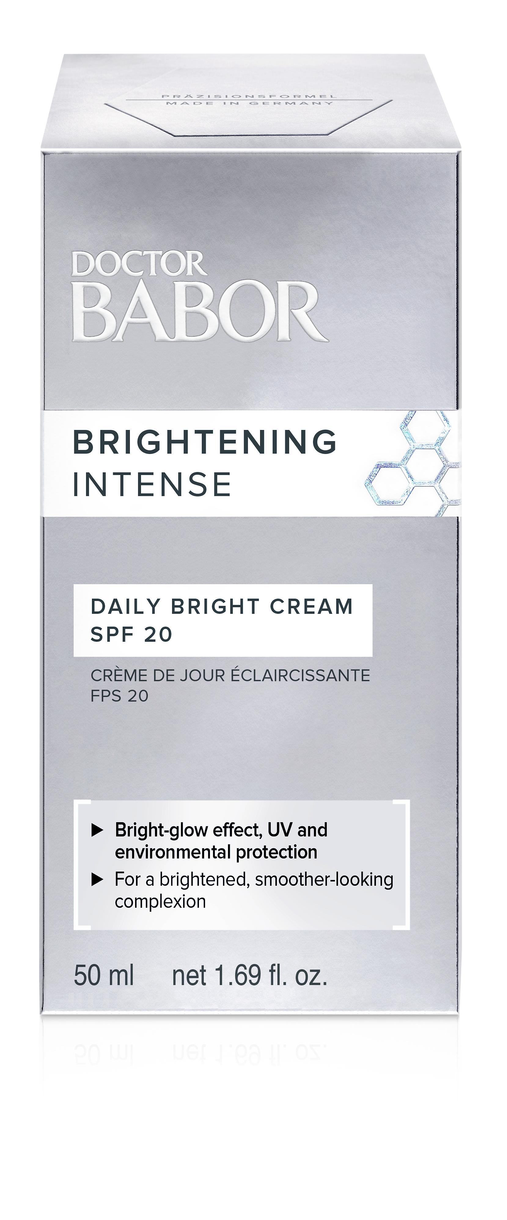 DOCTOR BABOR BRIGHTENING CELLULAR Daily Bright Cream SPF 20