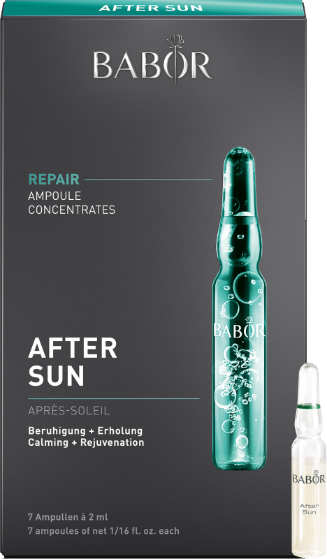 BABOR AMPOULE CONCENTRATES REPAIR After Sun 7x2 ml