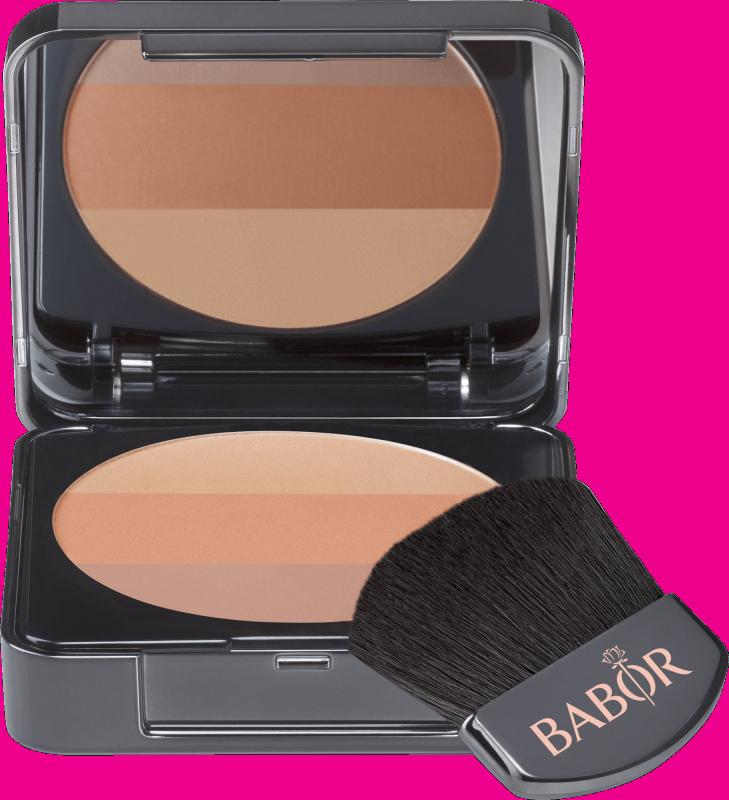 BABOR AGE ID FACE COSMETICS Tri-Colour Blush 01 Bronze